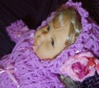 Очень нежный, тёплый и уютный комплект для новорожденного. Выполнен из мягкой пр. Запоріжжя, Запорізька область. фото 6