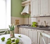 Белая уютная кухня на заказ. Киев. фото 1