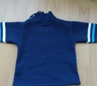 Синий теплый свитер 2-3 года на байке. Очень теплый, мягкий, приятный к телу. За. Киев, Киевская область. фото 3