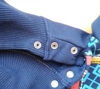 Синий теплый свитер 2-3 года на байке. Очень теплый, мягкий, приятный к телу. За. Киев, Киевская область. фото 6