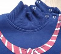 Синий теплый свитер 2-3 года на байке. Очень теплый, мягкий, приятный к телу. За. Киев, Киевская область. фото 5