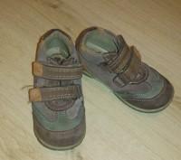 Продам осенние туфли-кроссовки кожаные р.24 в хорошем состоянии. Киев, Киевская область. фото 2