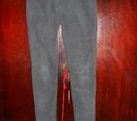 Серые вельветовые (микро вельвет)джинсы на 12 лет,в поясе вставлен регулятор об. Киев, Киевская область. фото 2