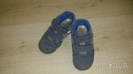 Продам осенние ботиночки на мальчика в хорошем состоянии р.26. Киев, Киевская область. фото 1