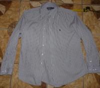 Рубашка хлопок Polo by Ralph Lauren  size xL/17 оригинал. Черкассы. фото 1