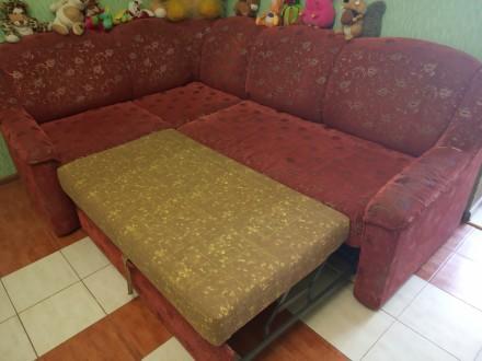 Продам диван кутовий, розкладний у хорошому стані. Є тумба для білизни. розмір 2. Овидиополь, Одесская область. фото 5