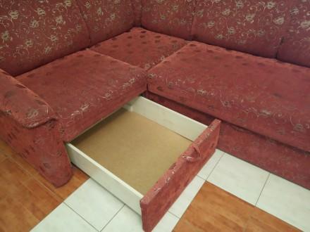 Продам диван кутовий, розкладний у хорошому стані. Є тумба для білизни. розмір 2. Овидиополь, Одесская область. фото 3