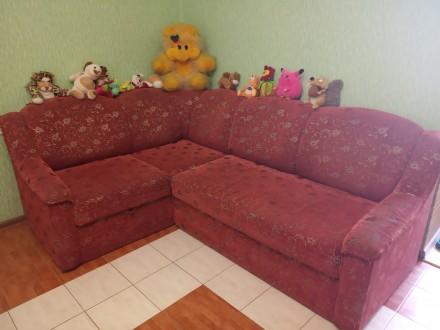 Продам диван кутовий, розкладний у хорошому стані. Є тумба для білизни. розмір 2. Овидиополь, Одесская область. фото 2