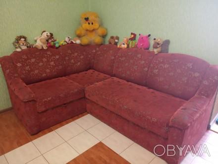 Продам диван кутовий, розкладний у хорошому стані. Є тумба для білизни. розмір 2. Овидиополь, Одесская область. фото 1