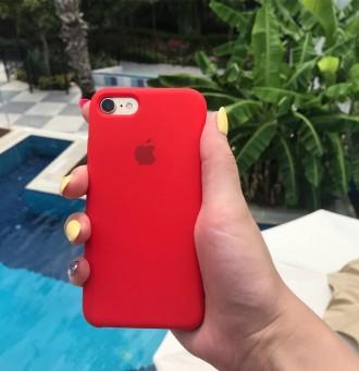 Чехол на айфон силиконовый Apple Silicone Case для iPhone. Сарны. фото 1