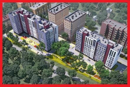 ЖК Новые Метры Park!  Просторная 1-ком. квартира площадью 34 м2.  Удобная план. Ирпень, Киевская область. фото 2
