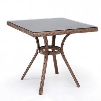 Плетеные столы из ротанга, Барселона. Мебель из ротанга для кафе, бара.. Тячев. фото 1