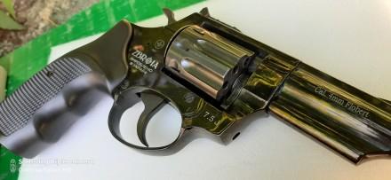 Револьвер  profi 3 ,флобер фирмы Zbroia  в идеальном состоянии грубо говоря новы. Новомосковск, Днепропетровская область. фото 2