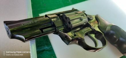 Револьвер  profi 3 ,флобер фирмы Zbroia  в идеальном состоянии грубо говоря новы. Новомосковск, Днепропетровская область. фото 6