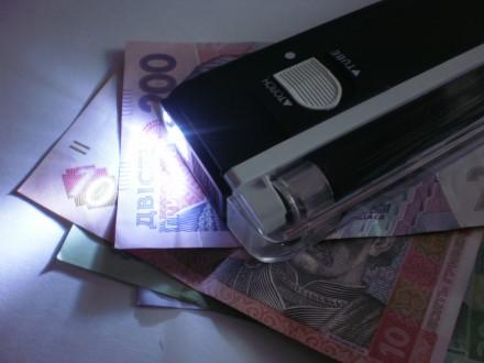 Портативный детектор денег DL 01 Компактный и портативный Мощный ультрафиолетовы. Одесса, Одесская область. фото 4