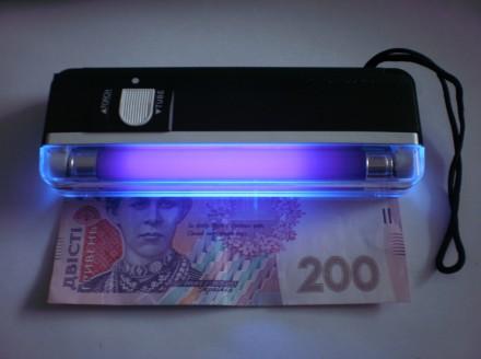 Портативный детектор денег DL 01 Компактный и портативный Мощный ультрафиолетовы. Одесса, Одесская область. фото 2
