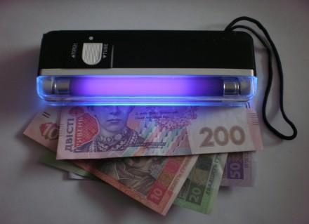 Портативный детектор денег DL 01 Компактный и портативный Мощный ультрафиолетовы. Одесса, Одесская область. фото 3