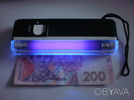 Портативный детектор денег DL 01 Компактный и портативный Мощный ультрафиолетовы. Одесса, Одесская область. фото 1