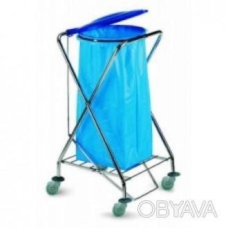 Контейнер открытый для мусора DUST представляет собой тележку с колесами диаметр. Киев, Киевская область. фото 1