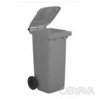 5050GRB Контейнер для мусора 120л Контейнер для мусора изготовлен из зеленого уд. Киев, Киевская область. фото 1