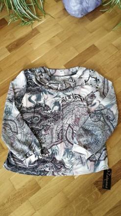 Шикарная коллекционная шифоновая блуза. Киев. фото 1