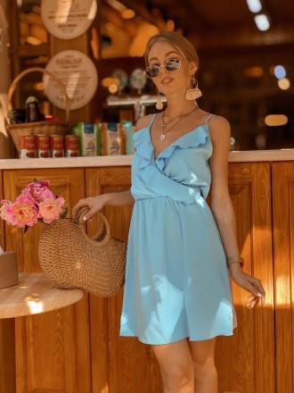 Трендовые летние женские легкие платья 2019. Одесса. фото 1