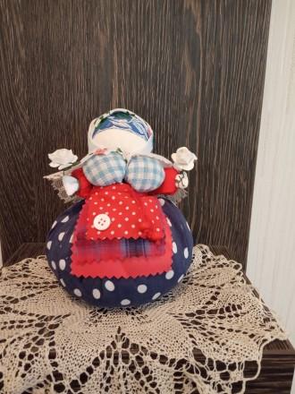 Любите этнические вещи или хотите сделать оригинальный подарок? Куклы кубышки-тр. Чернигов, Черниговская область. фото 5