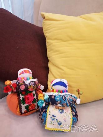 Любите этнические вещи или хотите сделать оригинальный подарок? Куклы кубышки-тр. Чернигов, Черниговская область. фото 1