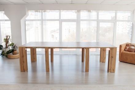 Стол-трансформер. Трансформация стола от 40 см до 2, 8 м. Киев. фото 1