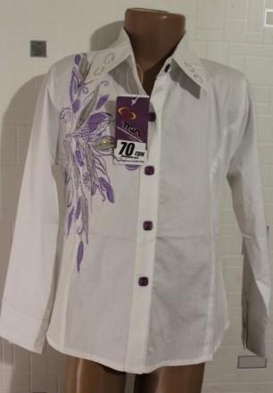 Блузка для девочки 7-12 лет. Токмак. фото 1