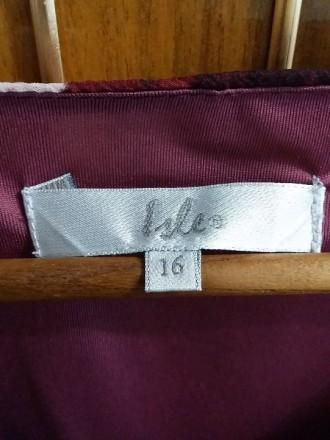 Платье Isle 16 размер из шифона, размер в нерастянутом состоянии: объём талии 88. Светловодск, Кировоградская область. фото 5
