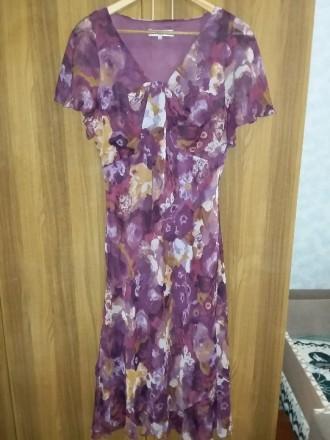 Платье Isle 16 размер из шифона, размер в нерастянутом состоянии: объём талии 88. Светловодск, Кировоградская область. фото 2