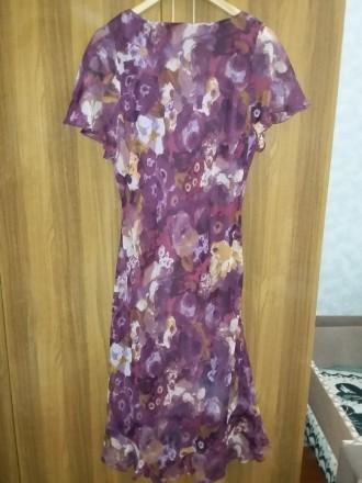 Платье Isle 16 размер из шифона, размер в нерастянутом состоянии: объём талии 88. Светловодск, Кировоградская область. фото 3