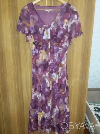 Платье Isle 16 размер из шифона, размер в нерастянутом состоянии: объём талии 88. Светловодск, Кировоградская область. фото 1
