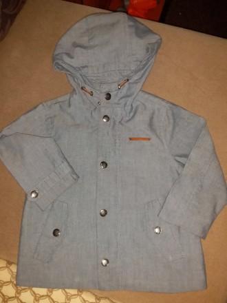 Куртка весна-осень детская zara babyboy. Светловодск. фото 1