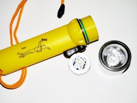 Подводный фонарь для дайвинга BL PF02. Днепр. фото 1