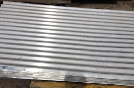 Алюминиевый лист 1,5мм, волна 20, 1000х2000. Запорожье. фото 1