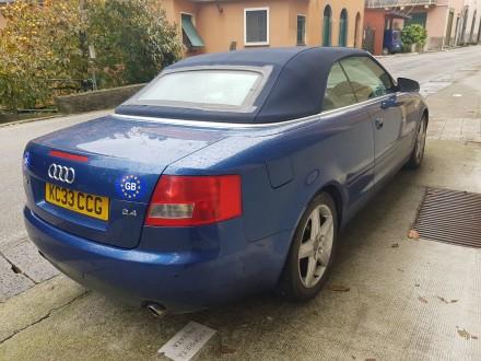 Продаётся английская машина Audi А4 Sports Cabriolet 2003 2.4 бензин, автомат. О. Белая Церковь, Киевская область. фото 5