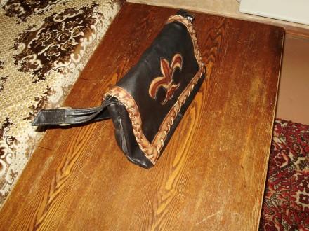Сумка женская из кожи В хорошем состоянии  вместительная,всё работает купленн. Херсон, Херсонская область. фото 6