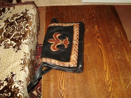Сумка женская из кожи В хорошем состоянии  вместительная,всё работает купленн. Херсон, Херсонская область. фото 7