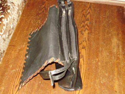 Сумка женская из кожи В хорошем состоянии  вместительная,всё работает купленн. Херсон, Херсонская область. фото 5