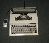Пишущая машинка Princessa портативная механическая. Запорожье. фото 1