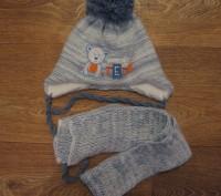 комлект зимний шапка+шарф. Запорожье. фото 1