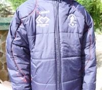 Фирменная куртка известного спортивного бренда LEGEA. Цвет темно синий .Капюшон . Киев, Киевская область. фото 3