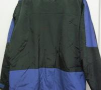Фирменная спортивная куртка. Цвет черный комбинированный с синим . Внутри на фли. Киев, Киевская область. фото 5