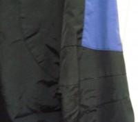 Фирменная спортивная куртка. Цвет черный комбинированный с синим . Внутри на фли. Киев, Киевская область. фото 7