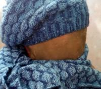 Шапочка и шарф. Днепр. фото 1
