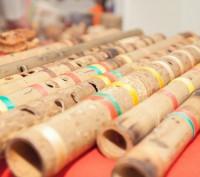 Деревянные и бамбуковые классические и этнические инструменты для звука духа и . Львов, Львовская область. фото 2