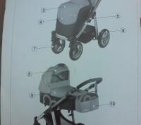 Чудесная всесезонная коляска для Вашего малыша (две коляски на одном шасси), ко. Чернігів, Чернігівська область. фото 7
