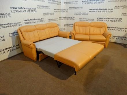 Продам Б/У кожаную мебель с Германии. Сокиряны. фото 1